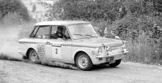 Hillman Imp Road Rally Car